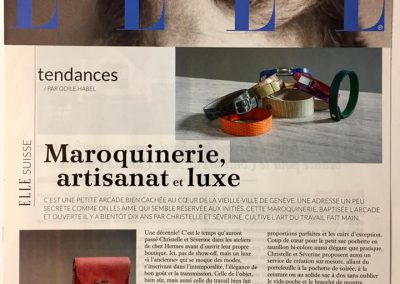 Article Elle 12/12/2017