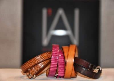 Bracelets peaux précieuses double tour ou simple tour